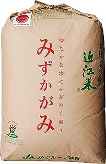 【30年産】玄米 5kg 環境こだわり米 滋賀 みずかがみ (5分づき米に)