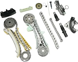 MOCA Timing Chain Kit with Sprocket and Guide Set for 97-10 Ford Explorer & 01-08 Ford Ranger & Mazda B4000 4.0L V6