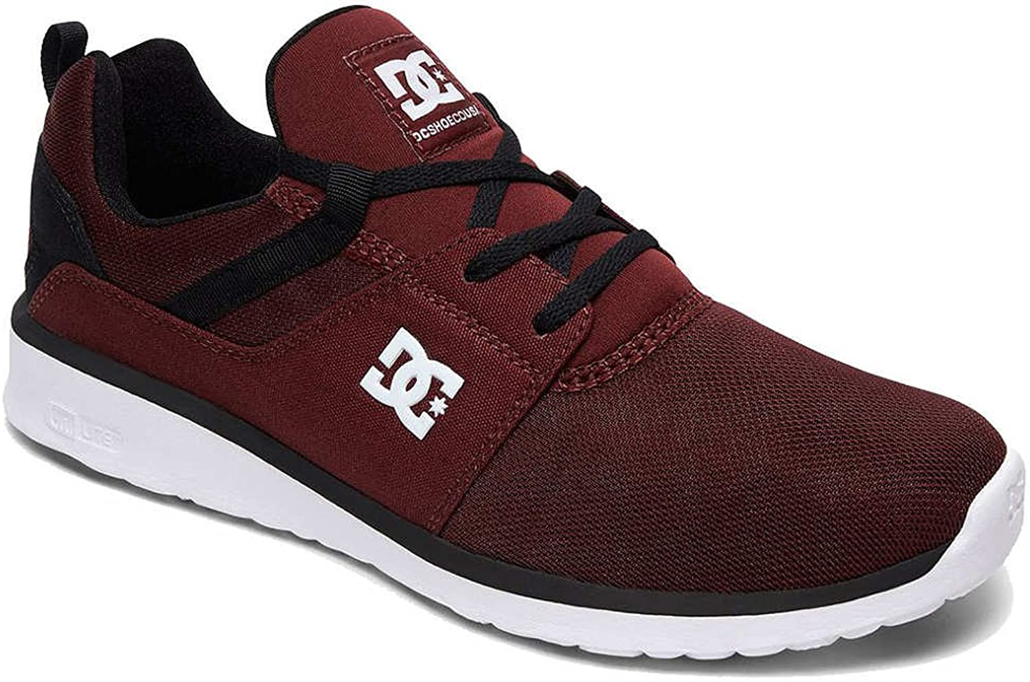 DC shoes Heathrow Trainers in Burgundy