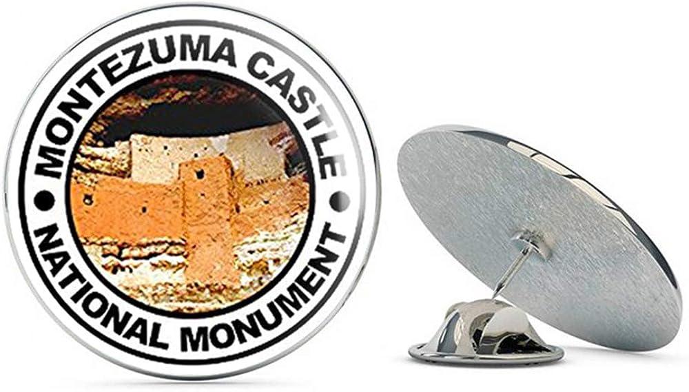 NYC Jewelers Round Montezuma Castle National Monument (rv Hike) Metal 0.75