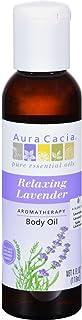 Aura Cacia Body Oil Relaxng Lavender