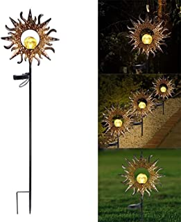 Garden Solar Ornaments Solar Lights with Waterproof Outdoor Garden Decor - Garden Solar Lights Solar Lamp for Patio/Pathwa...