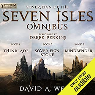 The Sovereign of the Seven Isles Omnibus cover art