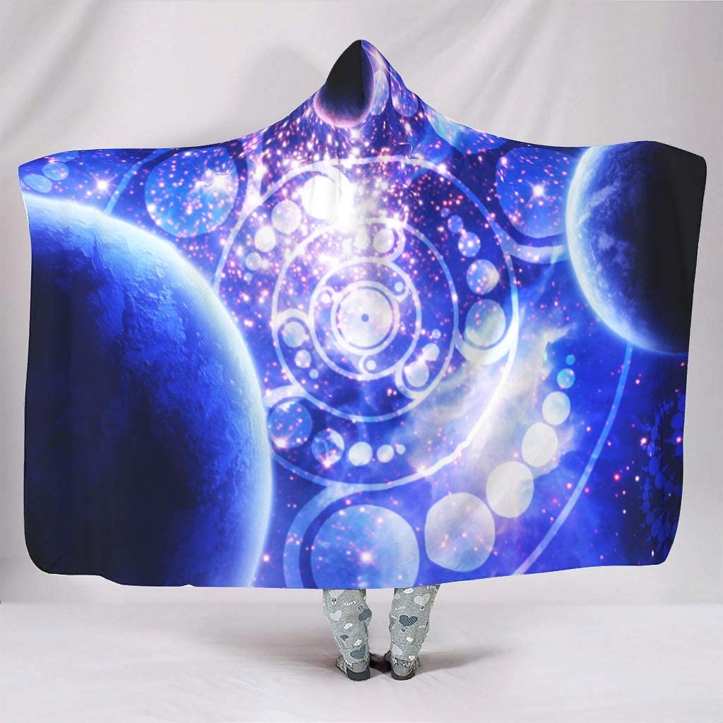 Loveyoudaily Hooded Blanket Movement of Planets Outlet ☆ Free Shipping in Unive The Genuine