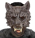 WIDMANN vd-wdm00442Máscara sin barbilla Lobo, talla única
