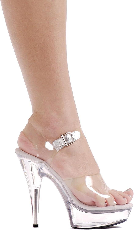 Ellie skor kvinnor Brook (Clear) (Clear) (Clear) Vuxna skor Plast  bra rykte