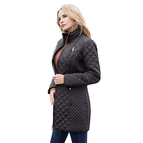 124e701b563d MSVASSA Winter   Autumn Ladies Puffer Coat Padded Warm Jacket Long Solid  Color Zippers Pockets Outerwear