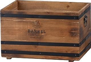アビテ(Habiter) バーレル・ボックス ブラウン DV-011-BR