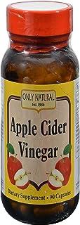 Only Natural Apple Cider Vinegar 500mg 90 capsules