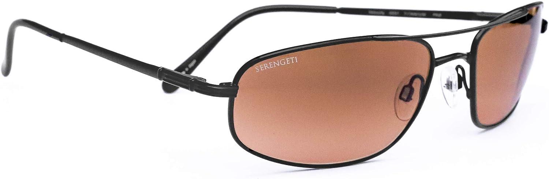 Serengeti 5 popular Velocity Sunglasses Titanium Matte Black Max 61% OFF Aviator