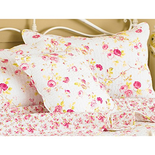 Riva Paoletti HONEYPOTLANE Pillow SHAM White, Coton, Weiß, Singles