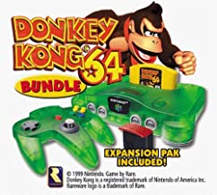 donkey kong n64 console