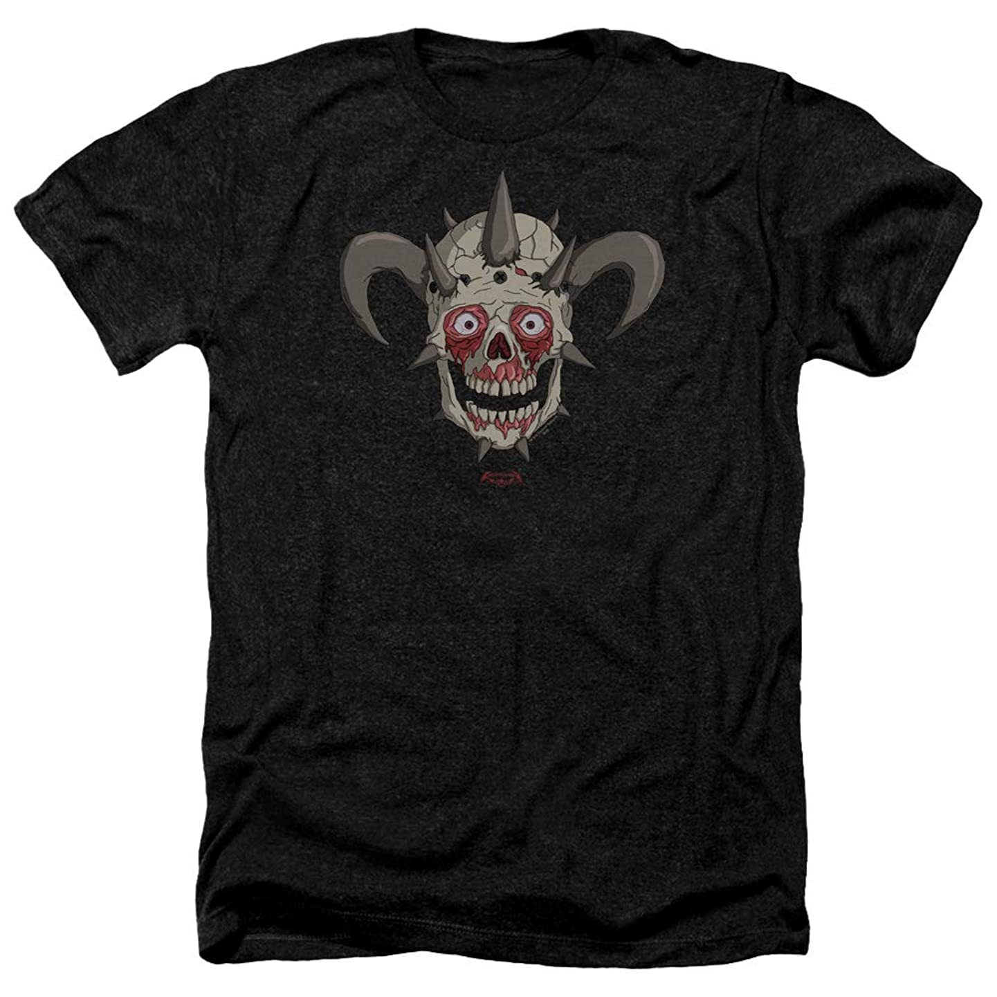 Metalocalypse Facebones Unisex Adult Heather T Shirt for Men and Women