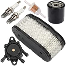 Kaymon 11013-7024 Air Filter 49065-2078 Oil Filter Fuel Pump for Kawasaki 19-25HP V-Twin Engine Lawn Mower Replace 11013-7010 11013-7005 11013-7009 11029-7002 11029-7012 11029-7015 11013-7027