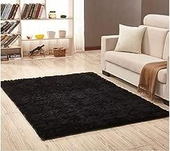 Waterp Rectangle Soft Faux Sheepskin Fur Area Rugs for Bedroom Floor Shaggy Silky Plush Carpet Faux Fur Rug Bedside Rugs