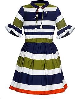 Naughty Ninos Crepe Pleated Dress