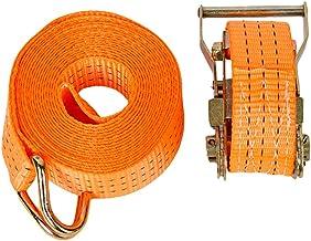 N / A 1-15m optionele ratel vastbinden spanbanden met haken vrachtwagen spanriem zware ratel riemen - 15m