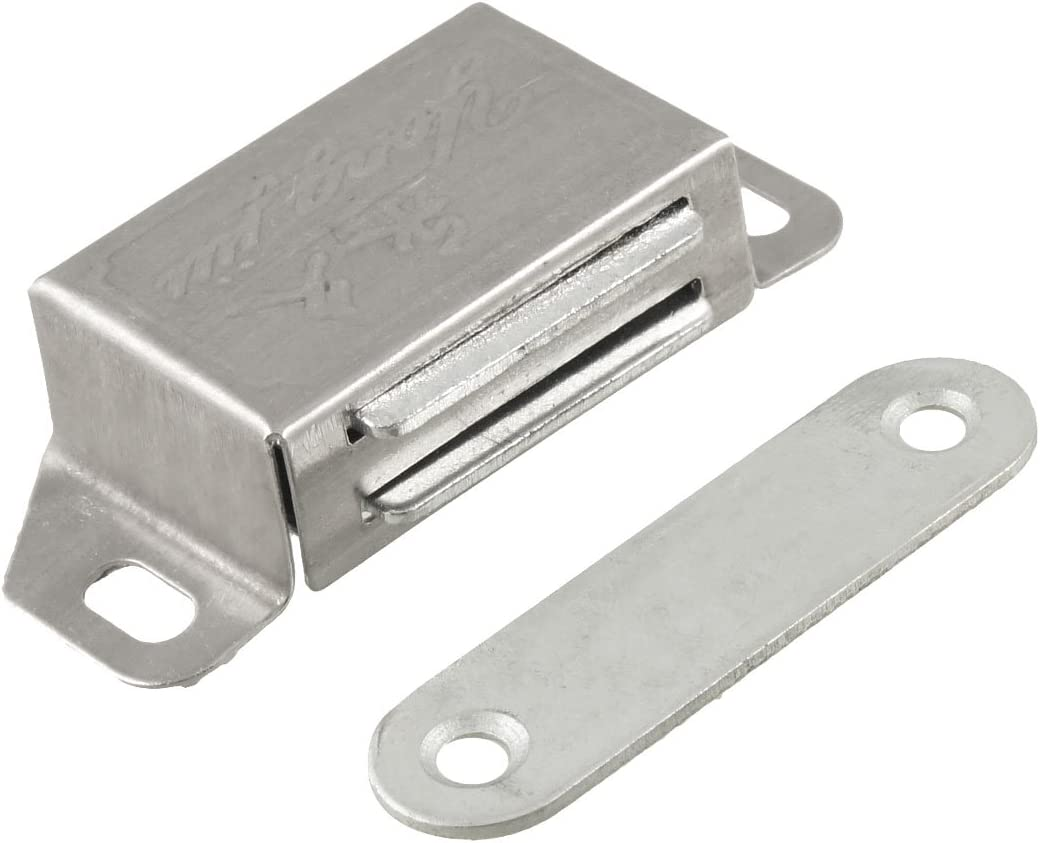 uxcell 46mm x 18mm 13mm price Single Max 51% OFF Magnetic for Catch Latch Cupboa