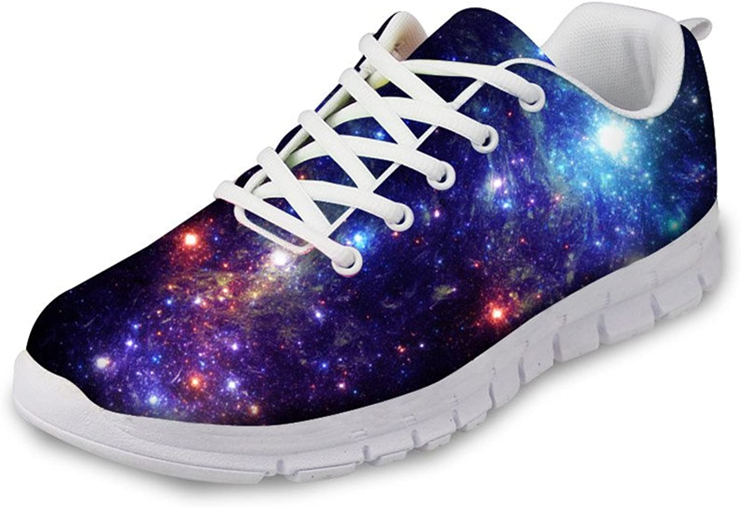 Chaqlin Fashion Galaxy Runnning shoes Breathable Men & Women Breathable Mesh Sneakers