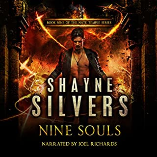 Nine Souls: A Nate Temple Supernatural Thriller audiobook cover art