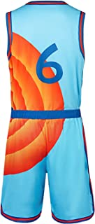 LOADREAM Men's Basketball Jerseys 6# Space Jam Jerseys Tune Squad Jersey A New Legacy Movie Shirts S-3XL Gift for Easter