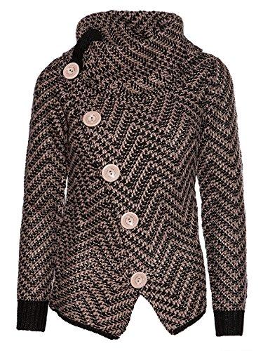 Mogul Damen Pullover Marlies Twotone Knit Artikel-Nr.14410860-8191 M
