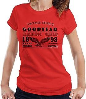 Goodyear Vintage serie t-shirt för kvinnor