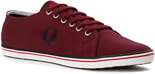 Fred Perry Men's Kingston Twill Port/Navy/Blood Oxford