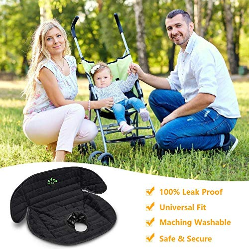 Piddle Pad Car Seat Protector, BicycleStore Waterproof Liner Potty Training Pads Machine Washable Toddlers Car Seat Infants Saver Cover Mat for Child Safety Car Seat, Stroller and Dinner Chair
