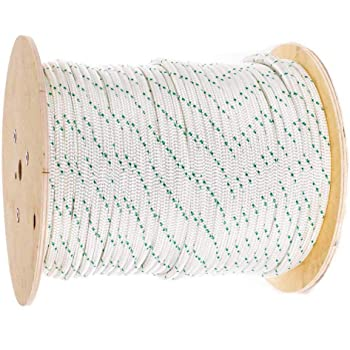 labworkauto 3//8 inch 4800Lbs Breaking Strength 200 Feet New Double Braided Polyester Rope