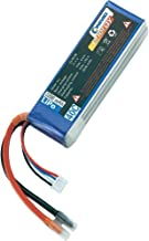 Conrad 238998 rechargeable battery Radio-Controlled  RC  model parts  Battery  Lithium Polymer  Black  Blue
