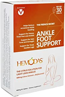 Sponsored Ad - Hemodas 250mg Citruvia, Leg Pain, Swollen Ankle, Vein Support, Spider Vein, Varicose Vein, Leg Swelling and...