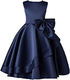 Best navy blue flower girl dress Reviews
