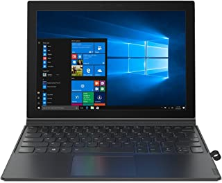 Lenovo Miix 630, 12-Inch Windows Laptop, 2 in 1 Laptop, (Qualcomm Snapdragon 835, 4 GB LPDDR4X, 128 GB UFS 2.1, Windows 10 S), 81F10001US,Iron Grey