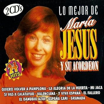 Lo Mejor De María Jesus Y Su Acordeon