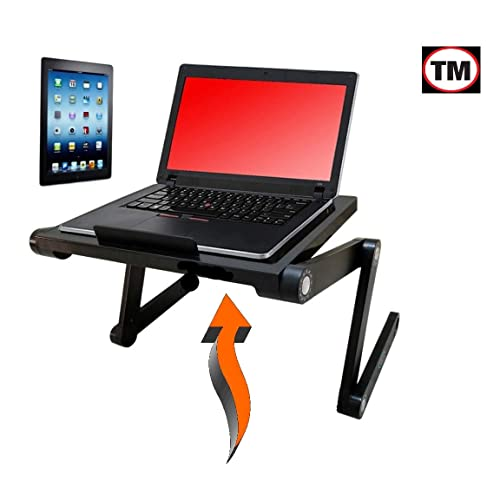 Vented LaptopTablet Stand By Desk York In BedCouchSofa Or