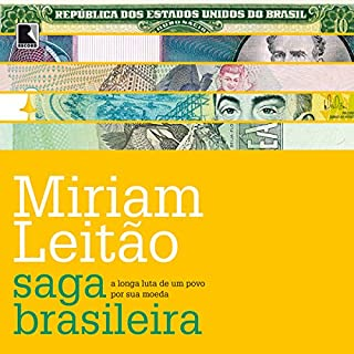 Saga brasileira [Brazilian Saga] audiobook cover art