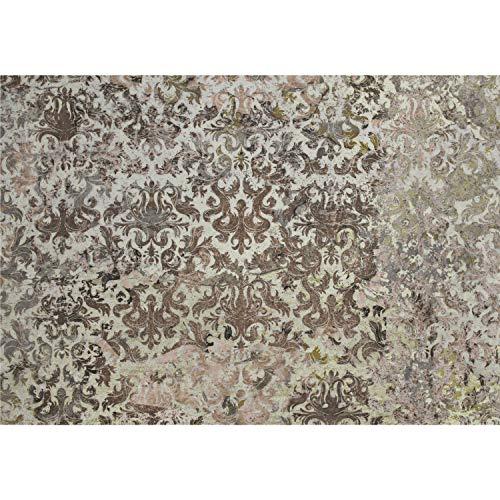 decomonkey Fototapete selbstklebend Vintage 392x280 cm XXL Selbstklebende Tapeten Wand Fototapeten Tapete Wandtapete klebend Klebefolie Ornament