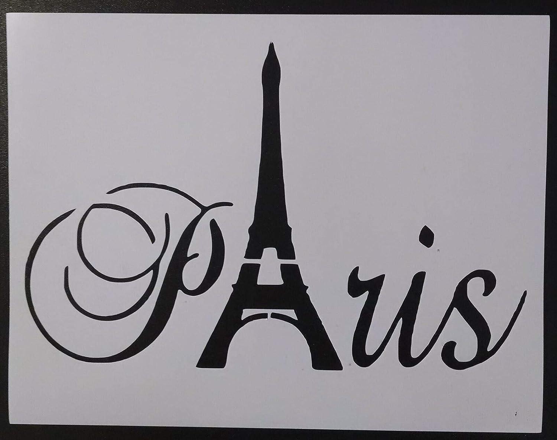 Paris Now free shipping Eiffel Tower Word 11
