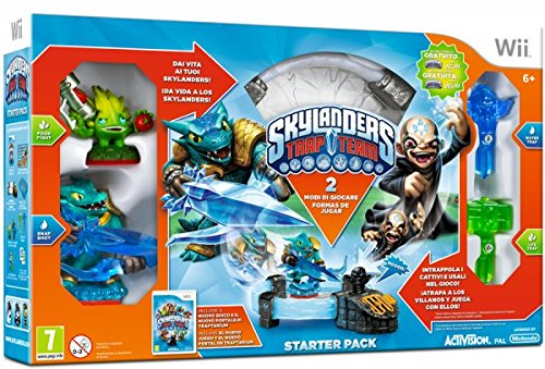 SKYLANDER TRAP TEAM 87039IS STARTER PACK WII