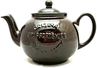 Handmade Original Brown Betty 6 Cup Teapot in Rockingham Brown with