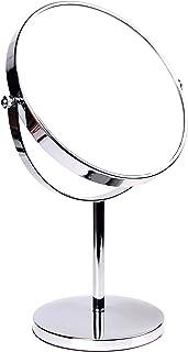 HIMRY Espejo de Baño 8 Aumento 10x para Afeitar y Maquillar Espejo de Mesa Cosmética Espejo con Doble Cara: 1x y 10x Am...