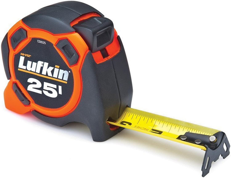 Lufkin CS8525 CS8525 CS8525 Control Series Power Tape, 1-3 16-Inch by 25-Feet, Orange schwarz by Apex Tool Group B00BRKN644 | Eine Große Vielfalt An Modelle 2019 Neue  6cd0d4