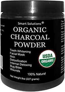 Organic Charcoal Powder - The Only USDA Certified Organic. Food Grade Powder, Non-GMO, Vegan, No Fillers 100% Pure Use for...