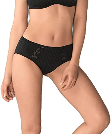 Details about  /Rosa Faia By Anita Charlize High Waist Brief 1369 New Womens Knickers Black