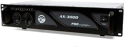 Amplificateur sono - Audio club AC-3000-2 x 1500W