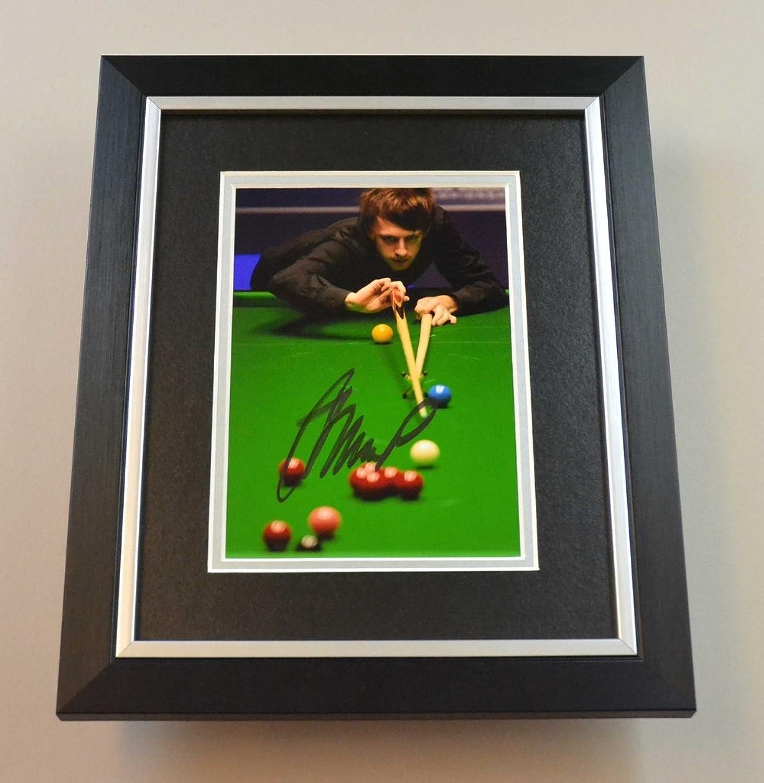 Judd Trump Signed 10x8 Photo Framed Snooker Memorabilia Autograph Display + COA