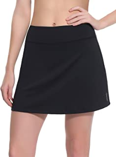 TAIBID Women's Active Athletic Skorts Workout Running Tennis Golf Skirt with Pocket, Size S - XXL
