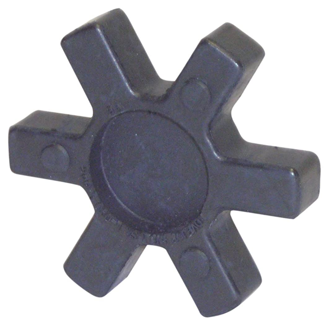 Lovejoy 12409 Size L225 Solid Type Jaw Coupling Elastomer Spider, SOX/NBR Rubber, 4.98
