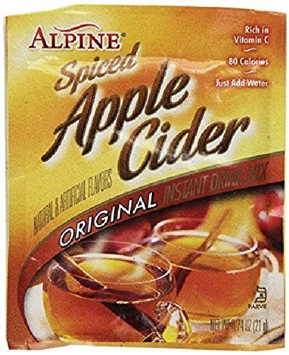 Alpine Spiced Apple Cider Drink Mix, Original, 0.74 oz (180 count)